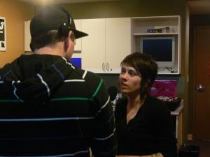 Interviewing Tegan :: 20091221