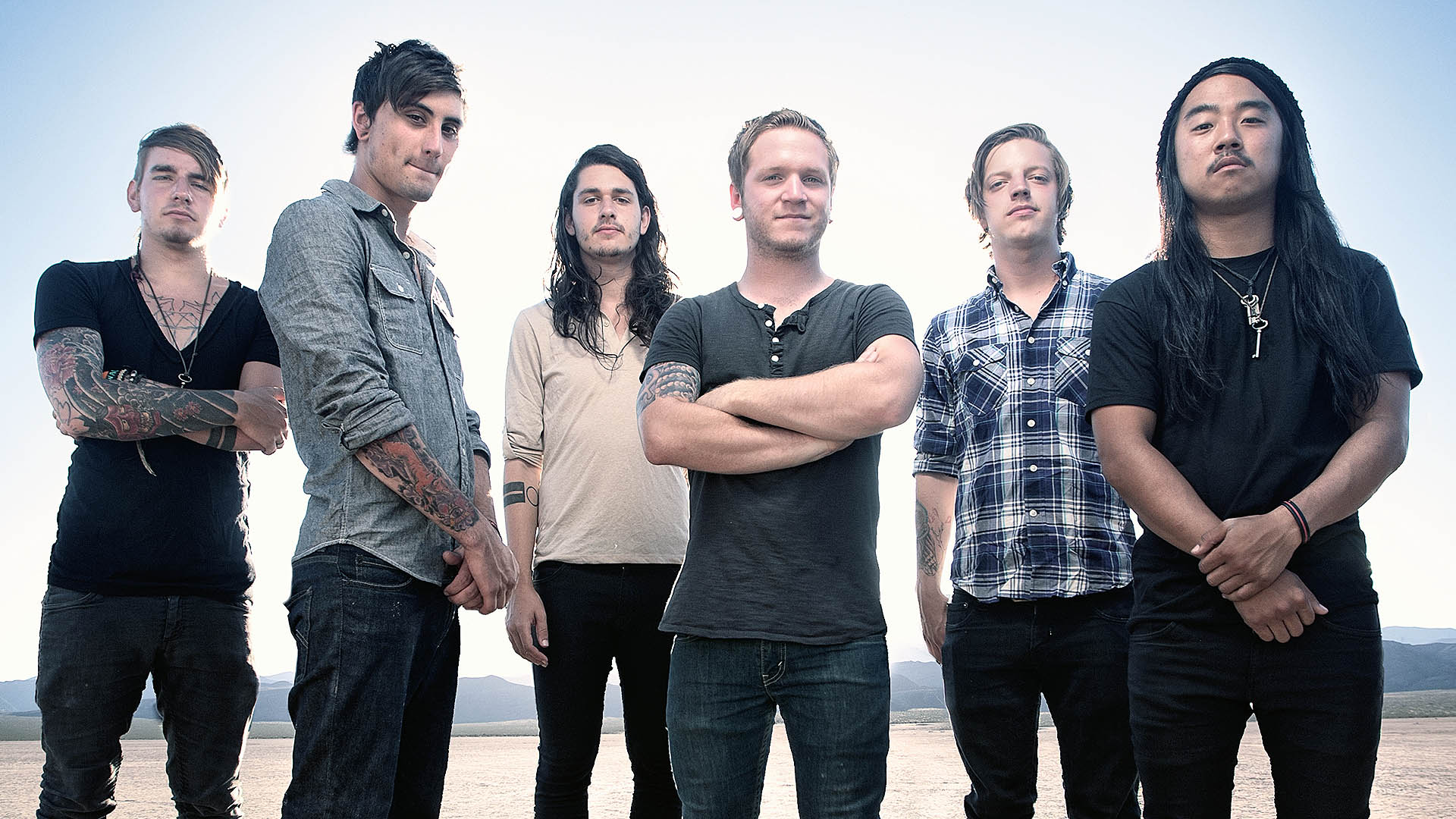 melodic hard rock from we came as romans