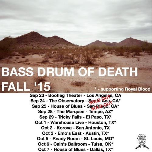 royal blood bass drum of death